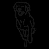 60bc817d04ca4ac9c3d28b1c21874bcc-esbozo-de-lengua-perro-correr-by-vexels